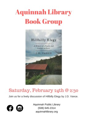 Copy of Copy of Aquinnah Library Book Group