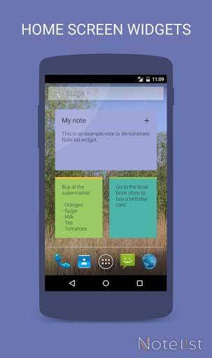 تطبيق Note list لإدارة التذكيرات والملاحظات