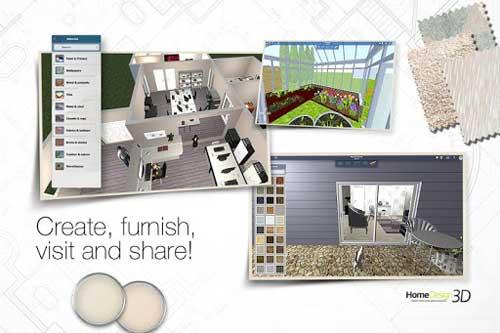 تطبيق Home Design 3D لتصميم منزلك بنفسك