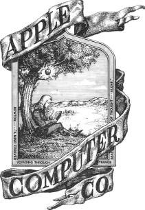 Primer logo historia Apple