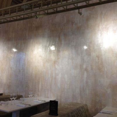 Mur qui sépare le restaurant de Philippe Etchebest du Théâtre de Bordeaux