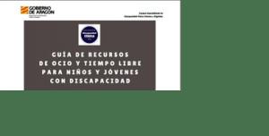 GUIA RECURSOS OCIO TIEMPO LIBRE JOVENES DISCAPACIDAD