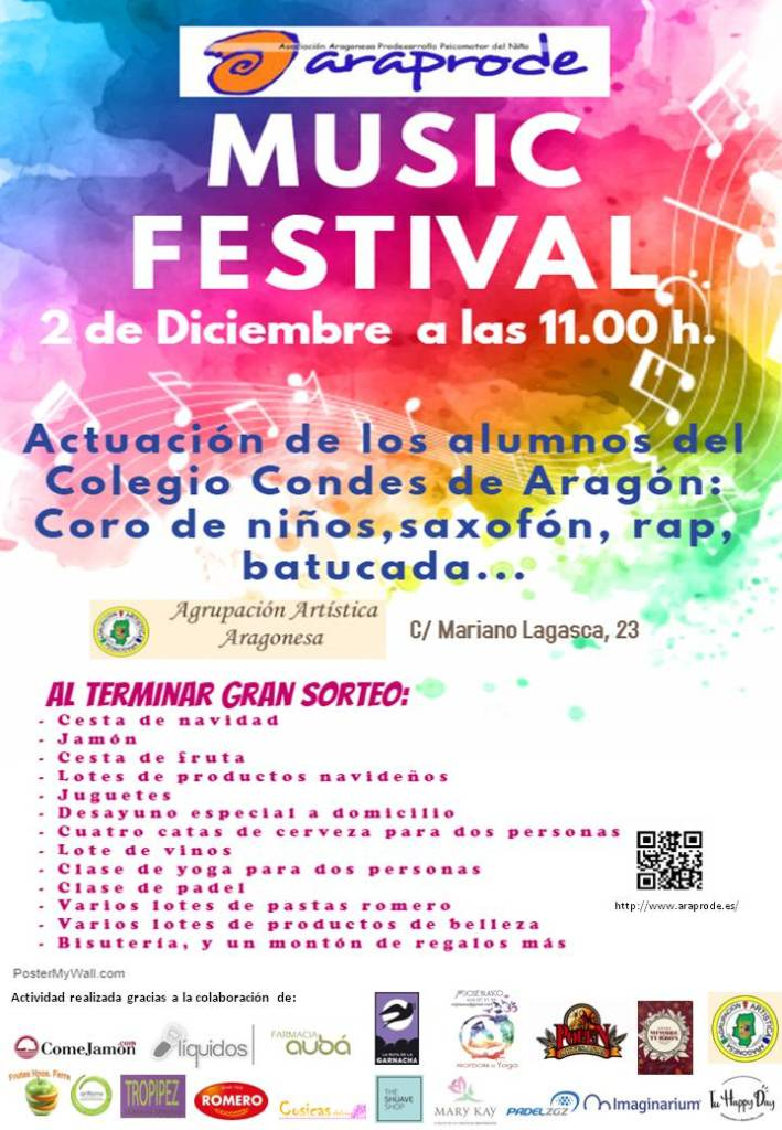 CARTEL FESTIVAL CON LOGOS 2018