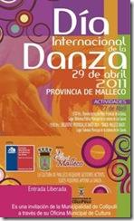 Oficina Municipal de Cultura de Collipilli, convoca a quienes quieran participar de celebración provincial del Día Internacional de la Danza