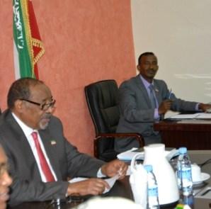 Somaliland President Ahmed Silanyo