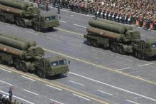 Russian S-400 Triumph/SA-21 Growler medium-range and long-range surface-to-air missile systems drive during the Victory Day parade at Red Square in Moscow, Russia, in this May 9, 2015. (Photo by Reuters)