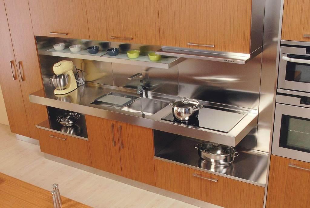 Elle arca cucine italia cucine in acciaio inox - Cucine in acciaio inox ...