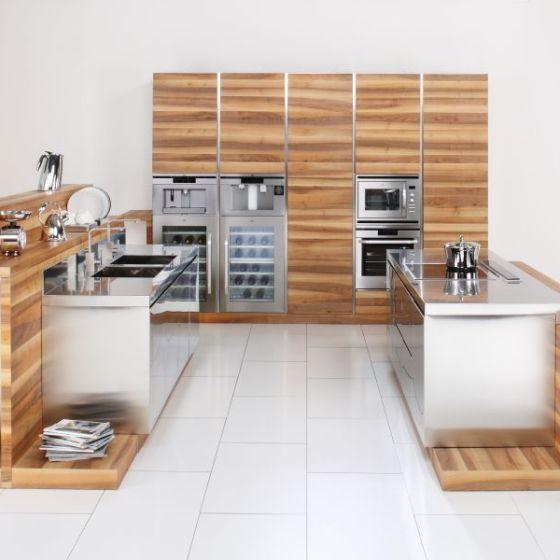Home arca cucine italia cucine in acciaio inox - Cucine legno e acciaio ...
