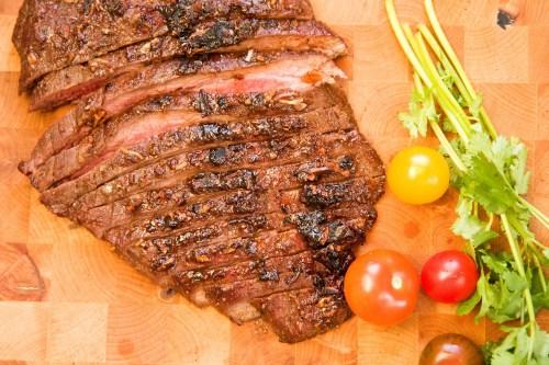 Medium Of Flank Steak Oven