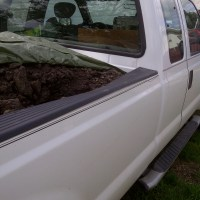 Chaney and Sons Contracting Warburg Alberta - Serving Edmonton and Area caused $4000 damage to our truck