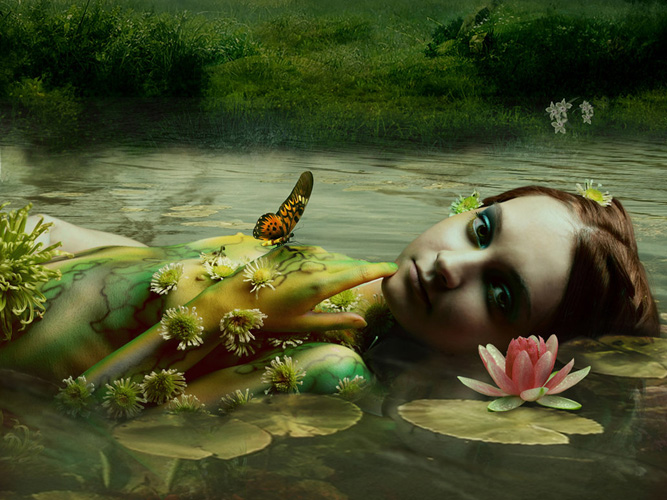 """A Bedtime Story for New Age Crystal Children to expand their Consciousness ~ """"Alexander and the Water Sprite"""""""