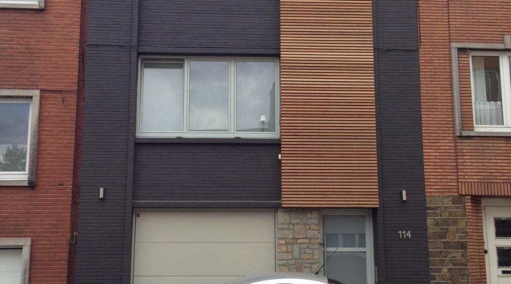 projet lc li ge bureau d 39 architecture tilkin. Black Bedroom Furniture Sets. Home Design Ideas