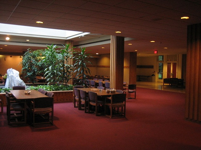 Contemporary theme for Cafeteria Design