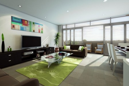 modern living room tv wall units 13 in black color 880x550