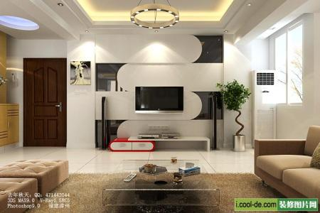 modern living room tv wall units 22 in black and white colors