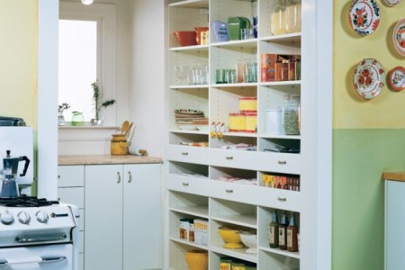 15 handy kitchen pantry designs with a lot of storage room 6 630x805