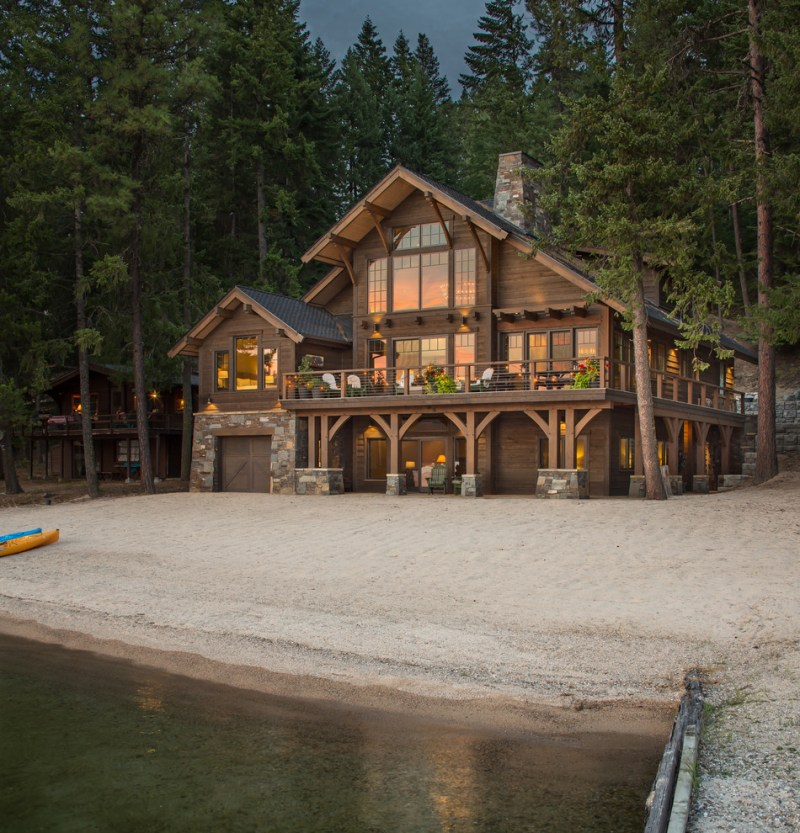 Large Of Rustic Home Designs
