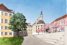 Wettbewerb Neuordnung des Auer-Gartens in Donauwörth