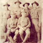 Elmer Becker of Wheeling, second from left back row. He worked at Bloch Brothers/Mail Pouch.