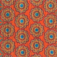 Loloi Rugs ARIAHAR11ORML1950 Aria Collection Transitional Area Rug, 1-Feet 9-Inch by 5-Feet, Orange/Multicolor