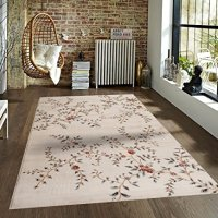 Ivory Beige Ivory Rust 7'10x10'2 Floral Area Rug Oriental Carpet Large New