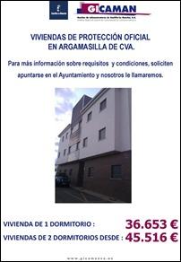 Salen a la venta seis viviendas de protección oficial a precios asequibles, pertenecientes a la empresa Gicaman en Argamasilla de Calatrava