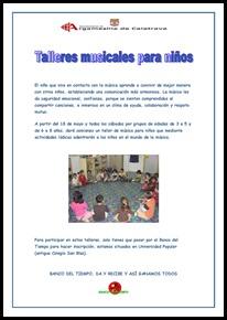 El Banco de Tiempo en Argamasilla de Calatrava acerca la música a los niños como una herramienta para mejorar la seguridad emocional