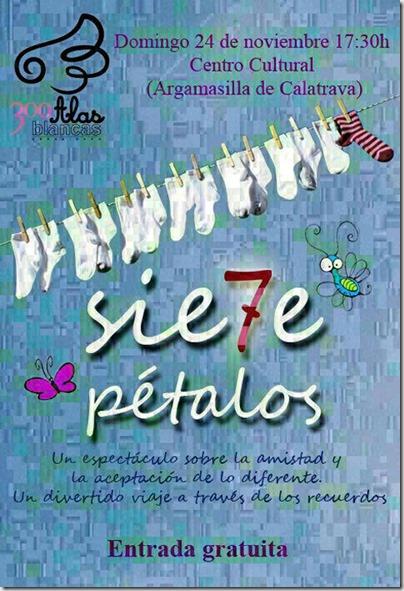 """Los niños de Argamasilla de Calatrava tienen una cita con el teatro este fin de semana con el espectáculo infantil y familiar """"Sie7e Pétalos"""""""