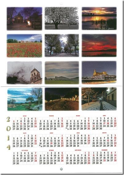 """3.000 calendarios están ya disponibles en los establecimientos de Argamasilla de Calatrava, participantes en la campaña de comercio """"cerca de todos, cercano a ti"""""""