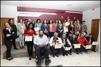 36 vecinos de Argamasilla de Calatrava concluyen con éxito el curso de 'Iniciación a la informática en el medio rural' que se cerró con la entrega de diplomas