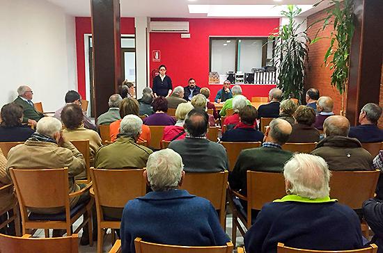 La Asamblea de Mayores abordó la programación de actividades en 2018