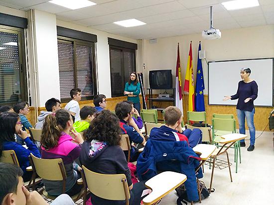 El Instituto rabanero acogió tres talleres para prevenir el acoso entre jóvenes