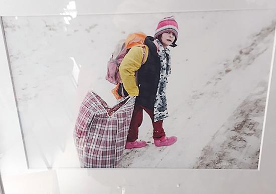 La vida de 80 refugiados sirios protagoniza la exposición 'Liey de Vie'