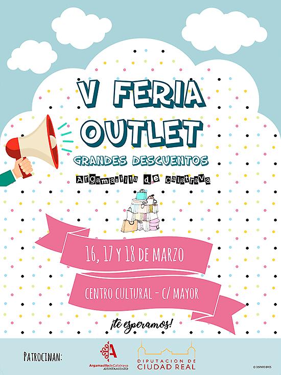 Argamasilla de Calatrava abre este viernes la V Feria Outlet, una nueva ocasión para adquirir buenos productos a precios bajos