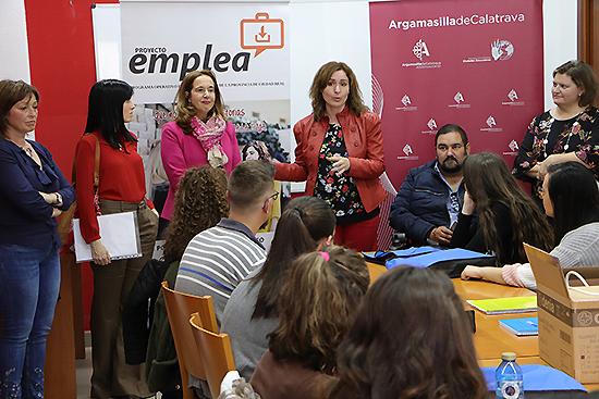 Inaugurado el nuevo curso de 'Atención sociosanitaria a personas dependientes en instituciones sociales' que organiza la Diputación