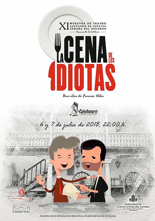 Epidauro representa 'La cena de los idiotas' en la XI Muestra de Teatro