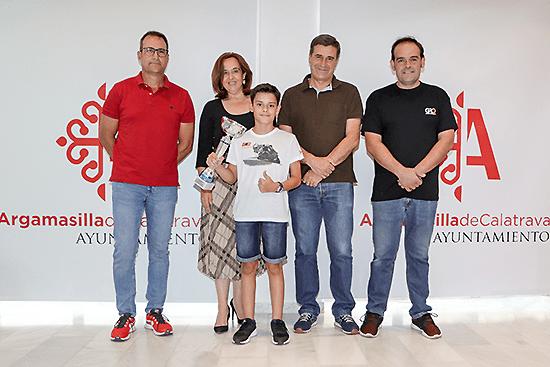 Argamasilla de Calatrava celebra el subcampeonato de España obtenido por David García Almansa