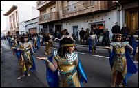 Catorce grupos hicieron saltar por los aires la alegría del Carnaval rabanero en su multitudinario desfile