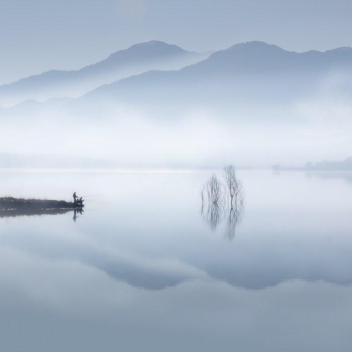 """""""Blue Silence"""" Fotografia de © Jose Beut"""
