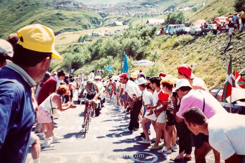 Tour de france 1990 - Luz Ardiden - Fabio arra