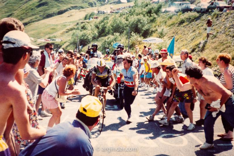 Tour de france 1990 - Luz Ardiden - Marino Lejarreta