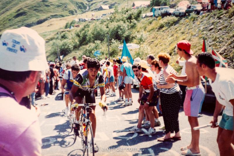 Tour de france 1990 - Luz Ardiden -Eduardo Chozas