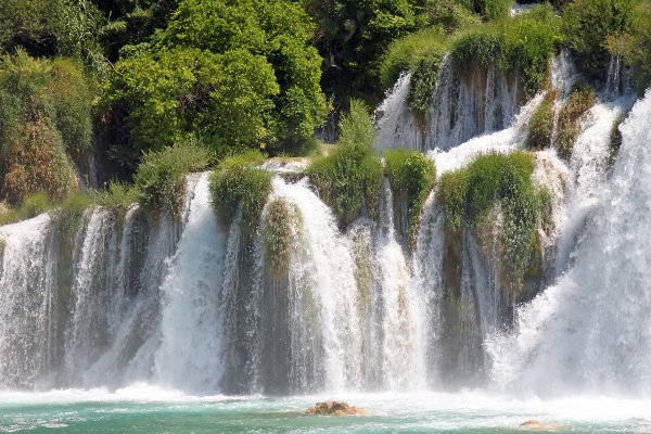 Krka River courtesy © Alaska-Tom - Fotolia.com