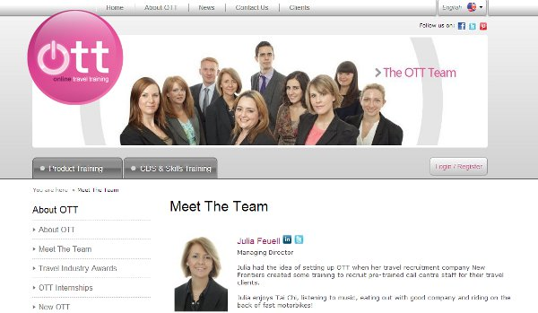 The OTT Team