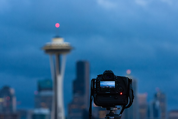 Day to night timelapse at kerry park