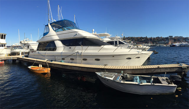 Airbnb Yacht on Lake Union in Seattle