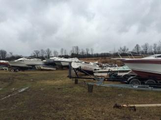 Boat graveyard: a bargain shopper's paradise!