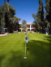 Scottsdale Plaza Resort Putting Green