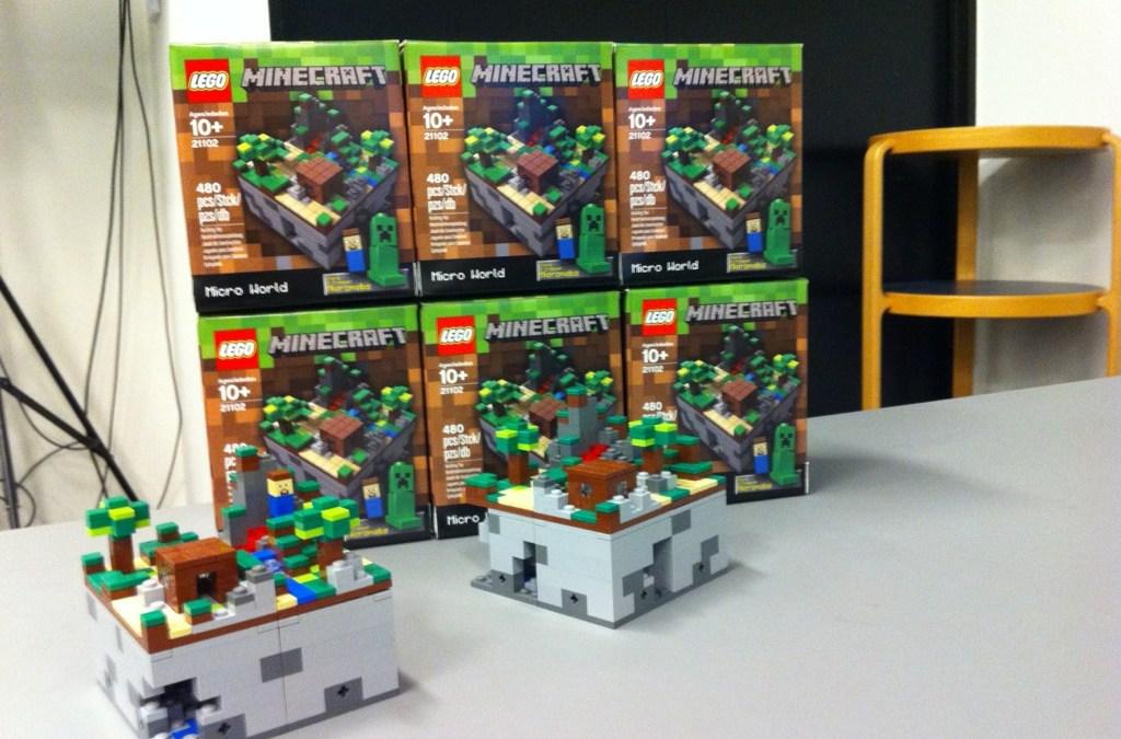 Lego sacará nuevo set edición especial de Minecraft