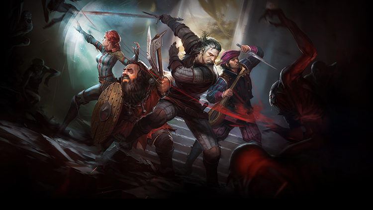 Se anuncia The Witcher Adventure Game